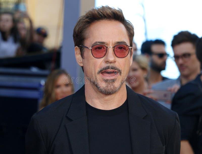 Robert Downey Jr fotografie stock libere da diritti