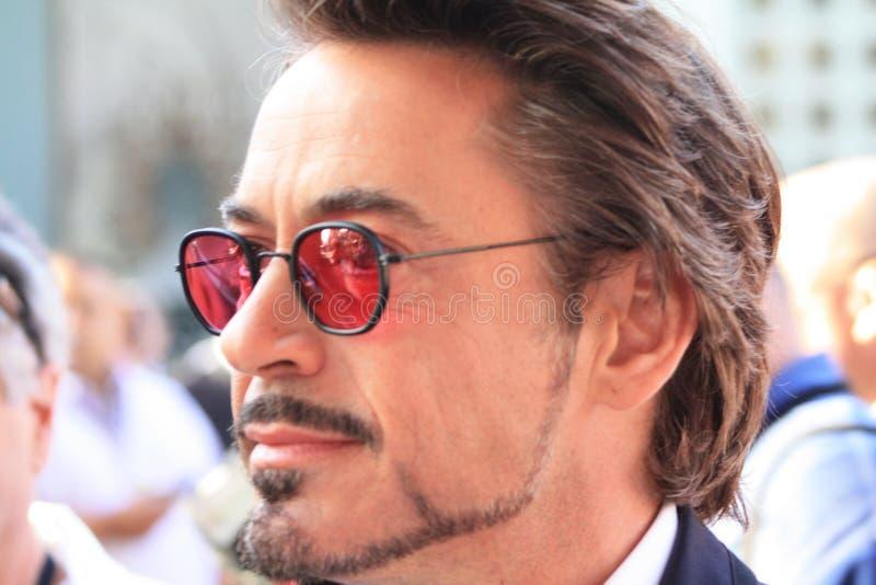 Robert Downey, junior fotografie stock
