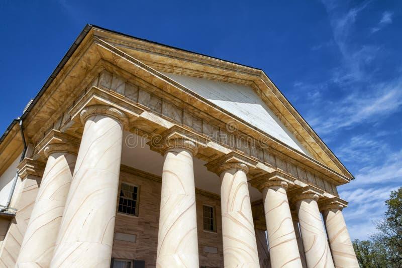 Robert E Lee dom obrazy stock