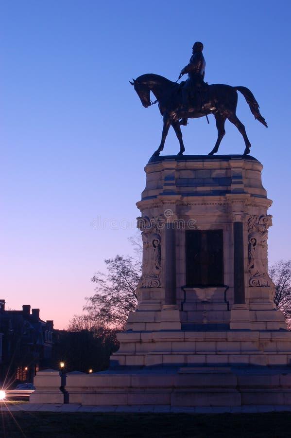 Robert E Lee Statue, Richmond, Virginia royaltyfri foto