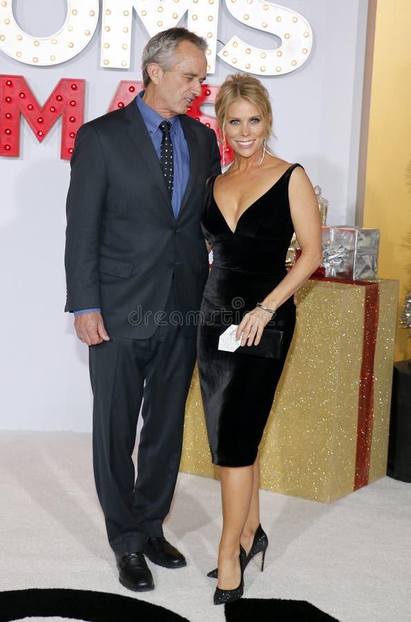Robert F Kennedy Jr e Cheryl Hines fotos de stock