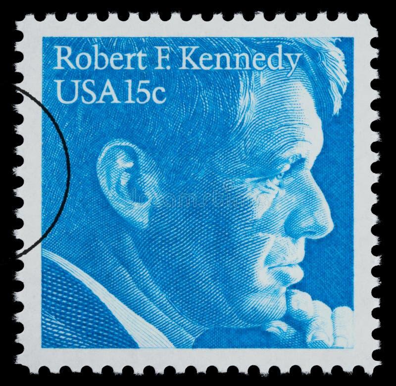 Robert F. Kennedy Postage Stamp vector illustration