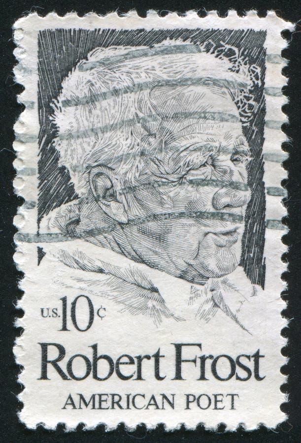 Robert Frost fotografia stock libera da diritti