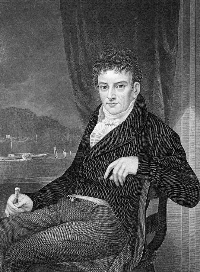 Robert Fulton royalty-vrije illustratie