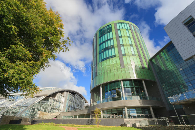 The Robert Gordon University (RGU) in Aberdeen stock image