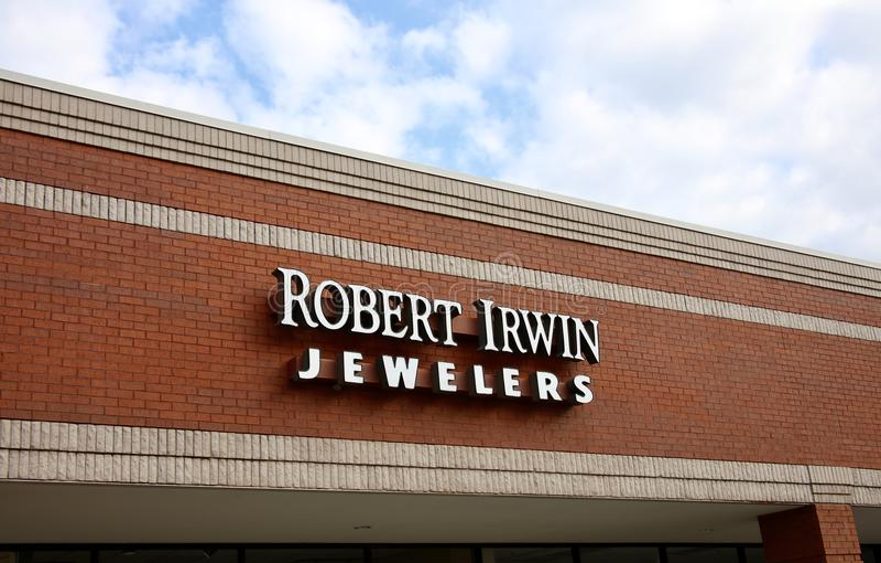 Robert Irwin, jubilery Bartlett, TN obrazy royalty free