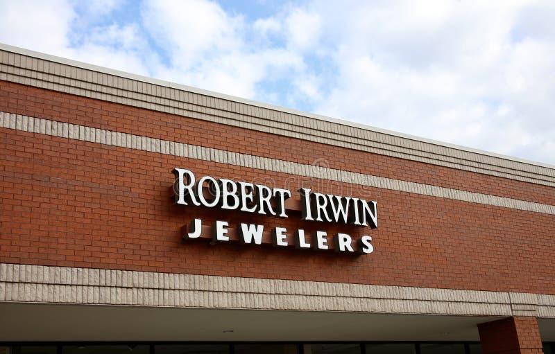 Robert Irwin, Juweliers Bartlett, TN royalty-vrije stock afbeeldingen
