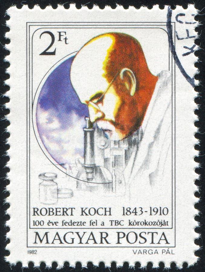 Robert Koch royalty-vrije stock afbeelding
