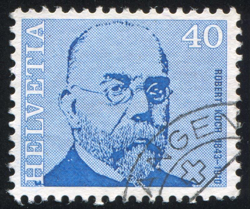 Robert Koch royalty-vrije stock foto's