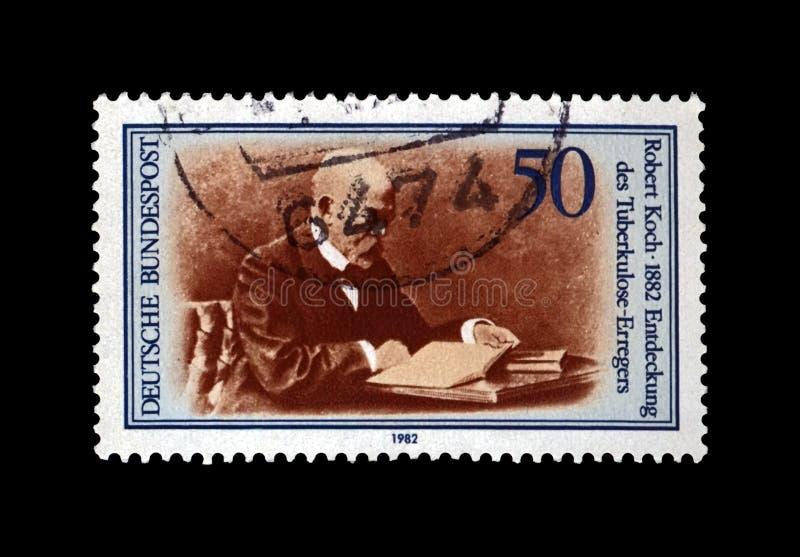 Robert Koch, científico de la tuberculosis, explorador, bacilo de tubérculo descubridor, Alemania, circa 1982, imagen de archivo