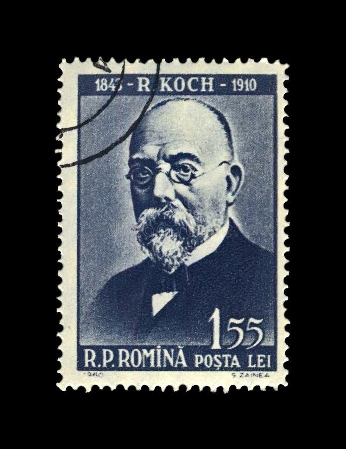 Robert Koch, científico de la tuberculosis, explorador, bacilo de tubérculo descubridor, circa 1960, imagen de archivo libre de regalías