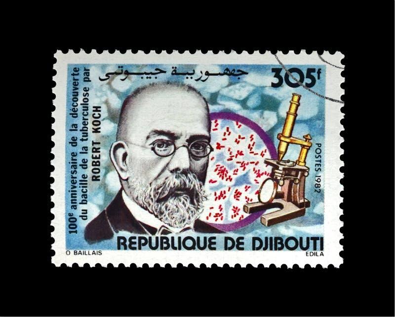 Robert Koch, científico de la tuberculosis, explorador, bacilo de tubérculo descubridor, Djibouti, circa 1982, imagenes de archivo
