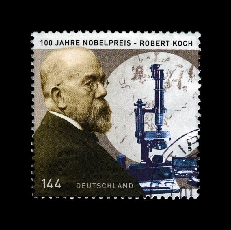 Robert Koch, descubridor previene del bacilo de tubérculo, premio de la medicina Nobel, circa 2005, imagenes de archivo