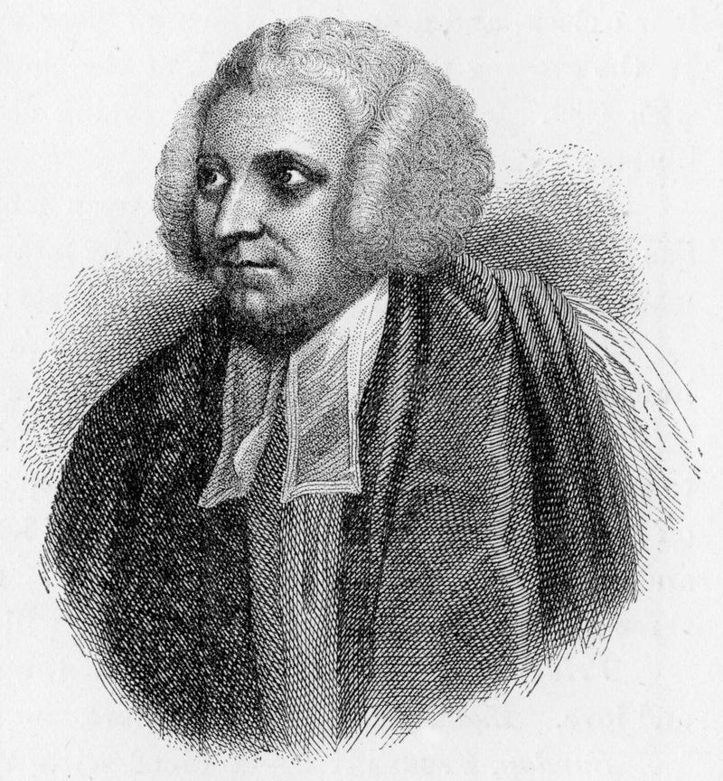 Robert Lowth. (1710 - 1787), a Bishop of the Church of England, Oxford Professor of Poetry and the author of one of the most influential textbooks of English vector illustration