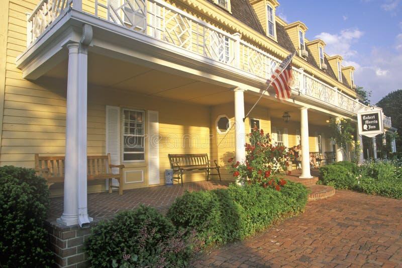 Robert Morris Inn, Maryland fotografía de archivo