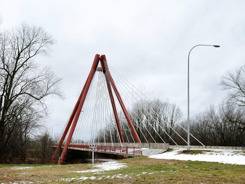 Robert N Stewart Bridge photos stock
