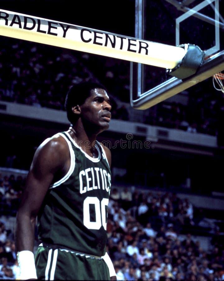 Robert Parish, Celtics de Boston imagen de archivo libre de regalías