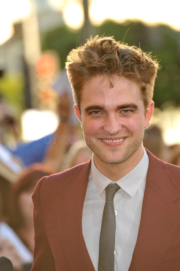 Download Robert Pattinson editorial stock image. Image of smith - 26026239