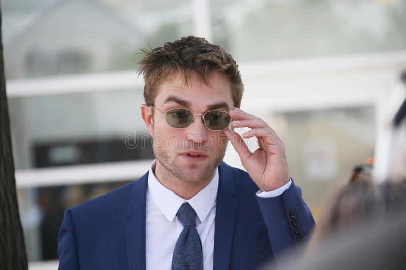 Robert Pattinson attends the `Good Time` stock photography