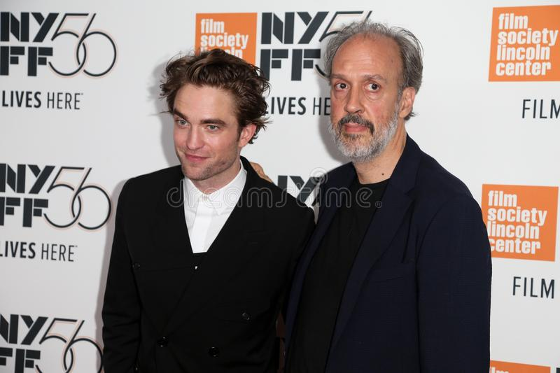 Robert Pattinson Kent Jones royaltyfria bilder