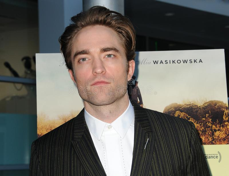 Robert Pattinson. At the Magnolia Pictures` premiere of `Damsel` held at the ArcLight Hollywood in Hollywood, USA on June 13, 2018 royalty free stock image