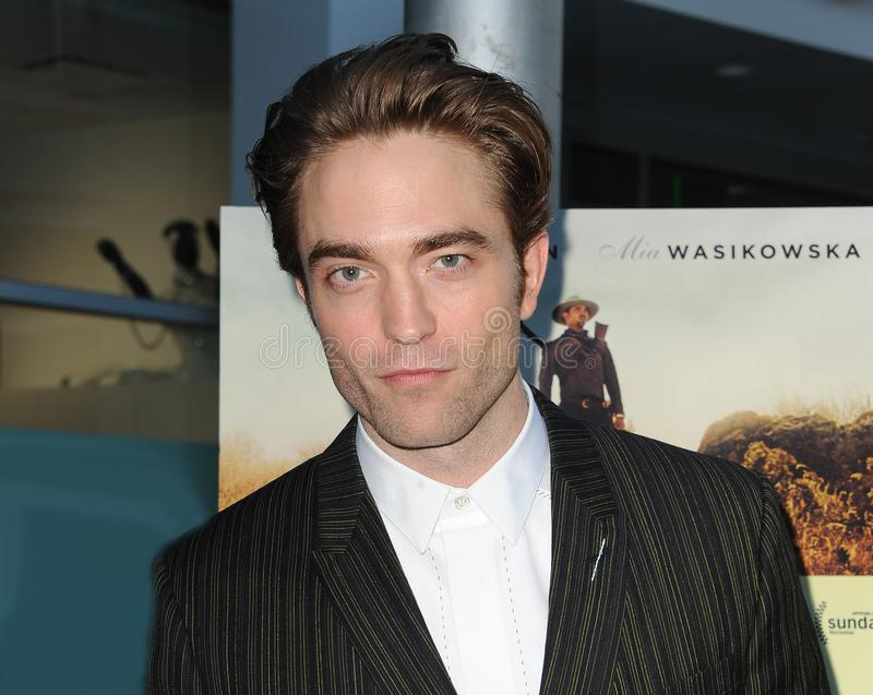 Robert Pattinson. At the Magnolia Pictures` premiere of `Damsel` held at the ArcLight Hollywood in Hollywood, USA on June 13, 2018 stock photos
