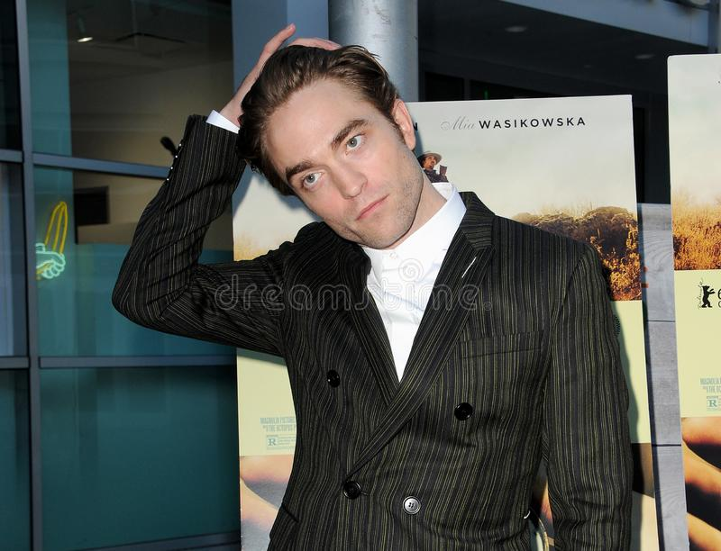 Robert Pattinson. At the Magnolia Pictures` premiere of `Damsel` held at the ArcLight Hollywood in Hollywood, USA on June 13, 2018 royalty free stock photo