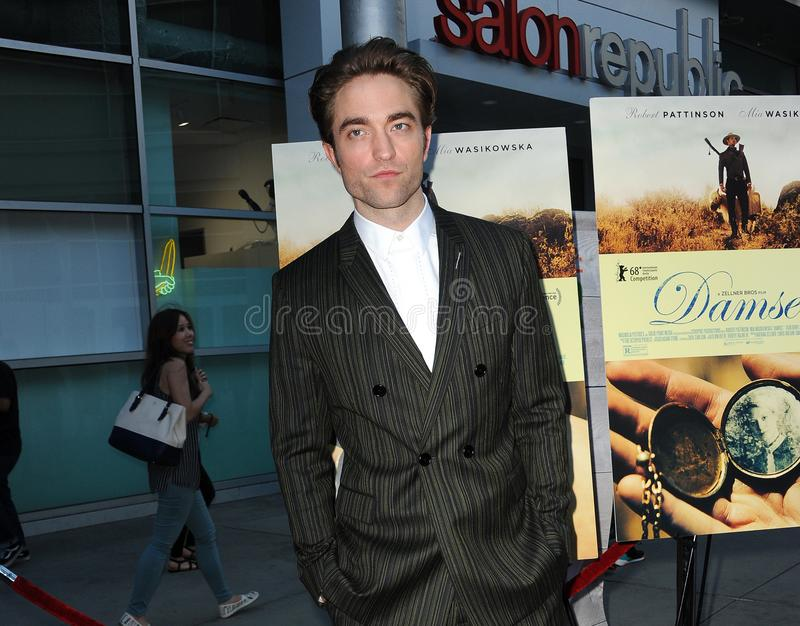 Robert Pattinson. At the Magnolia Pictures` premiere of `Damsel` held at the ArcLight Hollywood in Hollywood, USA on June 13, 2018 royalty free stock photos
