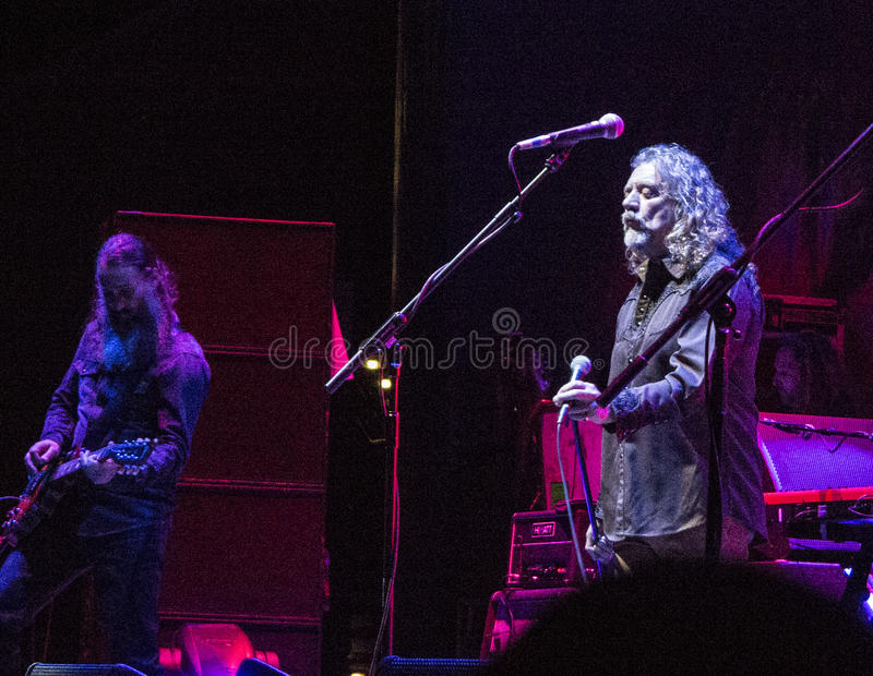Robert Plant und das sensationelle Spaceshifters lizenzfreie stockbilder
