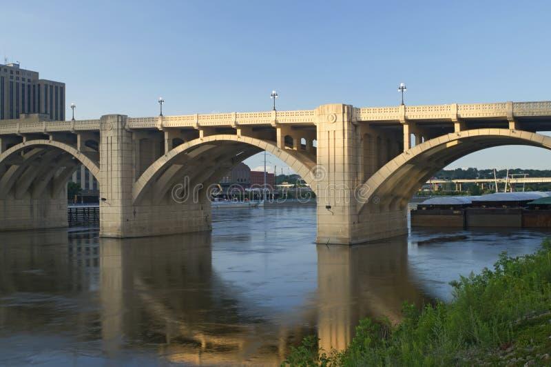 Download Robert Street Bridge And Barge Stock Photo - Image: 20514900