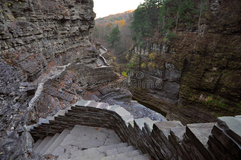 Robert Treman State Park, Ithaca, NY fotos de stock royalty free