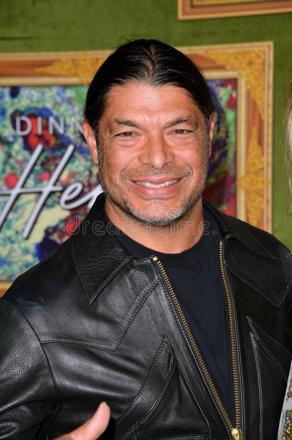 Robert Trujillo. LOS ANGELES, CA. October 04, 2018: Robert Trujillo at the Los Angeles premiere for `My Dinner With Herve` at Paramount Studios..Picture: Paul royalty free stock images