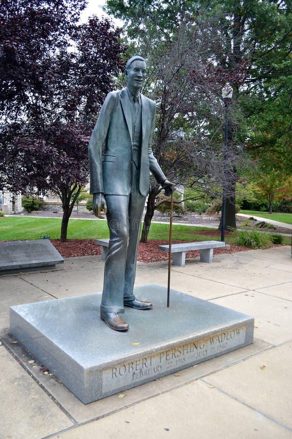Robert Wadlow Alton Giant Statue fotografie stock libere da diritti