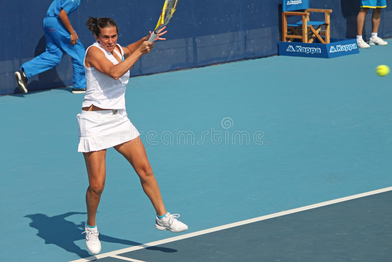 Roberta Vinci (ITA), professional tennis player stock photography