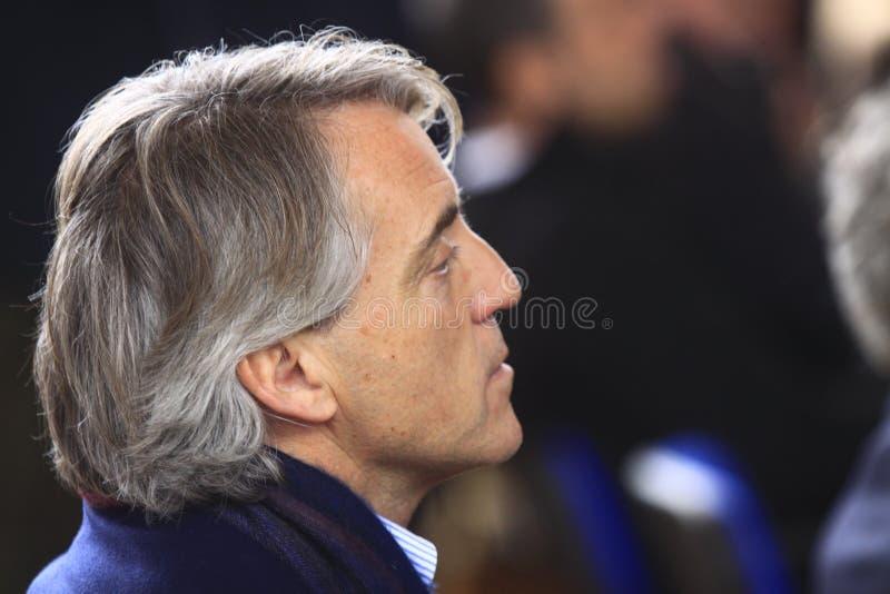 Roberto Mancini fotografia stock libera da diritti