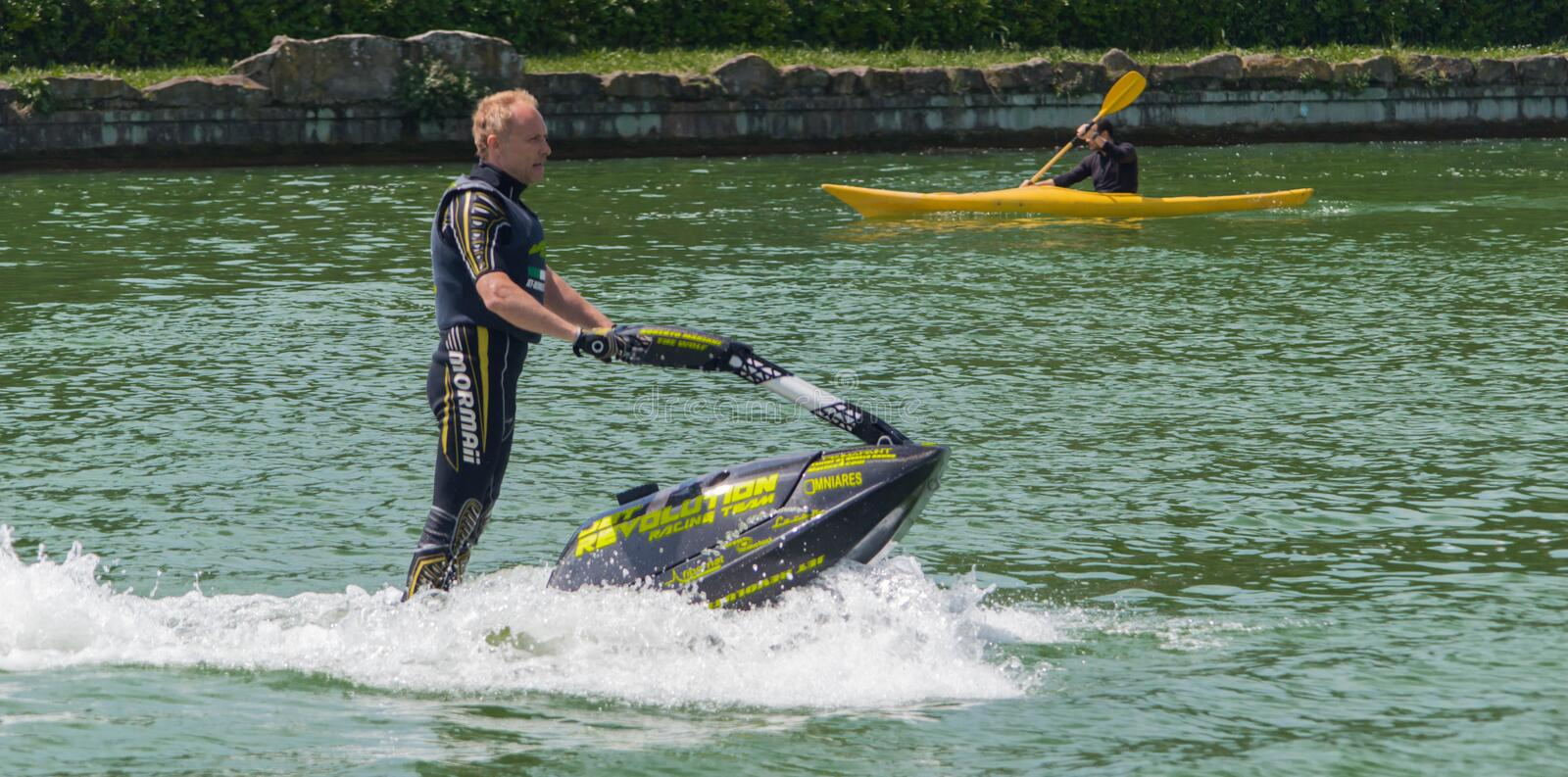 Download Roberto Mariani Jet-ski editorial stock image. Image of competition - 30711384