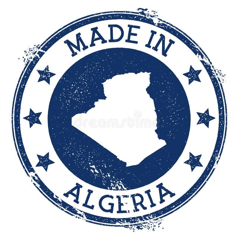 Robić w Algieria znaczku ilustracji