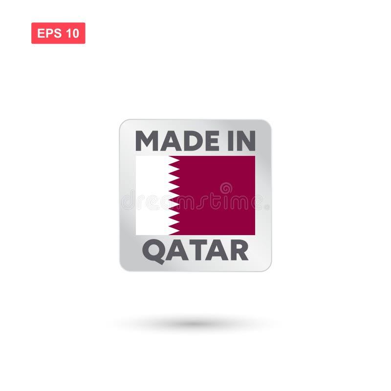 Robić w Qatar wektorze royalty ilustracja