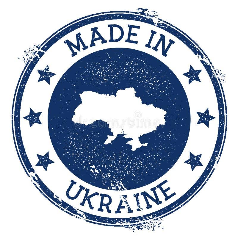 robić w Ukraina znaczku ilustracja wektor