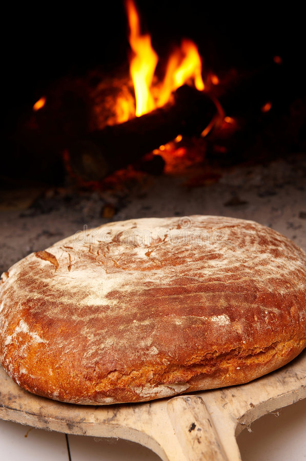 robić chlebowy świeży dom zdjęcie stock