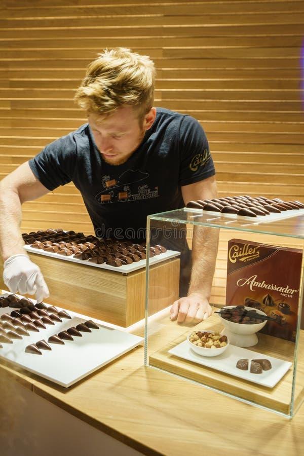 Robić czekoladzie zdjęcie stock