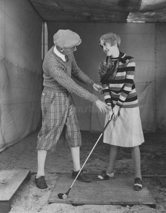 Robić golfowy pro zdjęcia royalty free