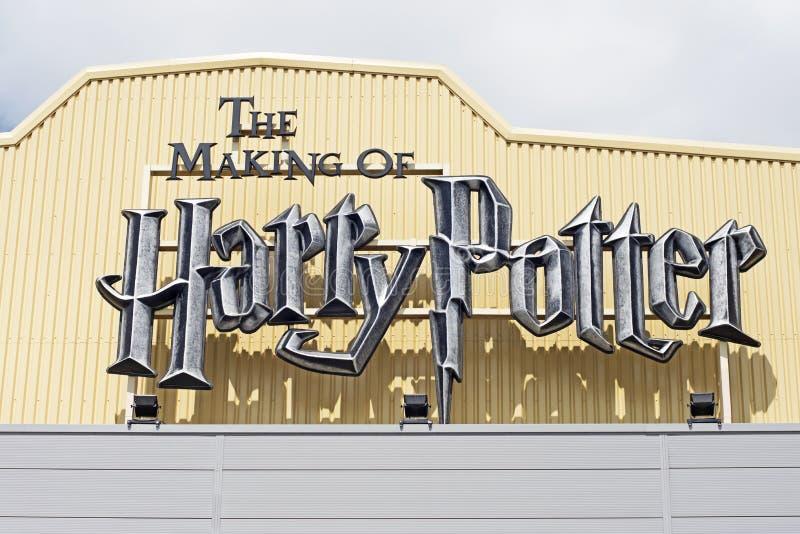 Robić Harry Poter zdjęcie stock
