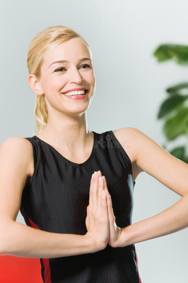 robić kobiety joga potomstwom obrazy royalty free