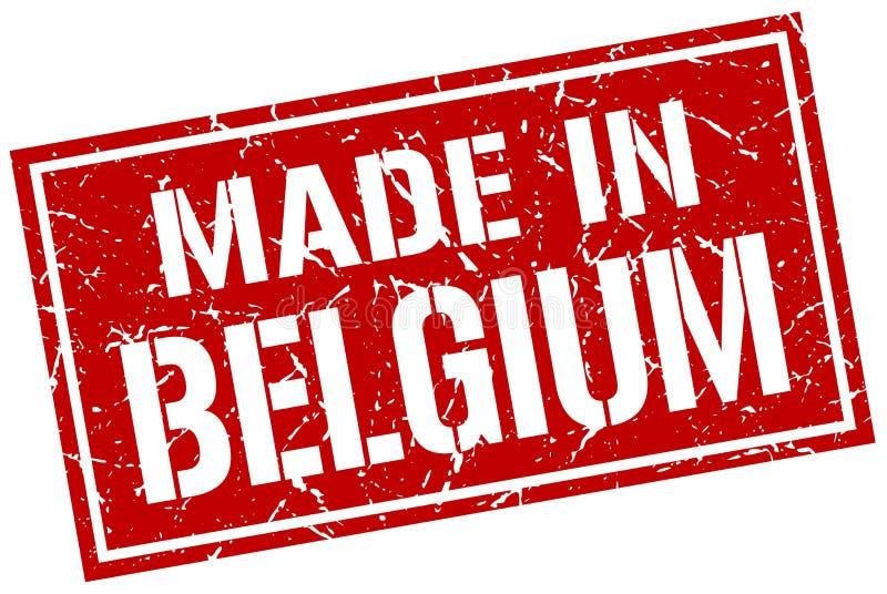 Robić w Belgia znaczku ilustracja wektor