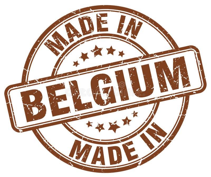 Robić w Belgia znaczku ilustracji