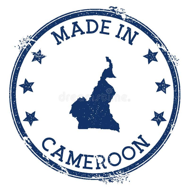 Robić w Cameroon znaczku ilustracji