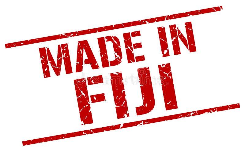 robić w Fiji znaczku ilustracja wektor