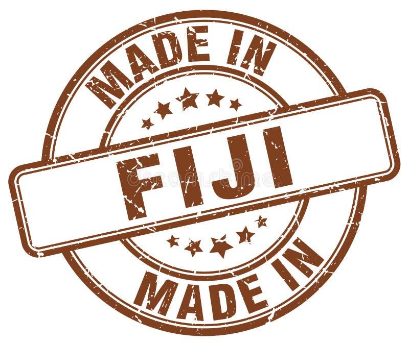 robić w Fiji znaczku royalty ilustracja