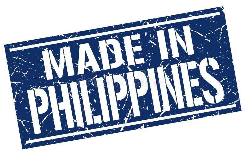 robić w Filipiny znaczku royalty ilustracja